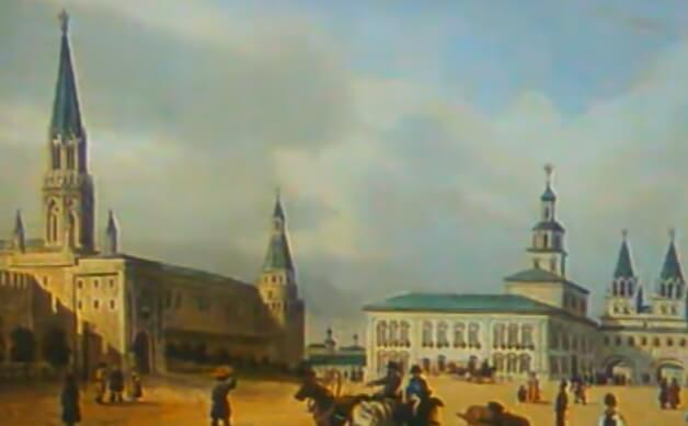 История строительства храма Христа Спасителя.