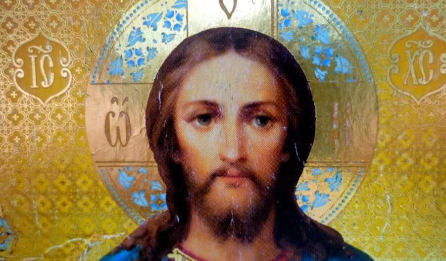 Изображение Иисуса Христа.