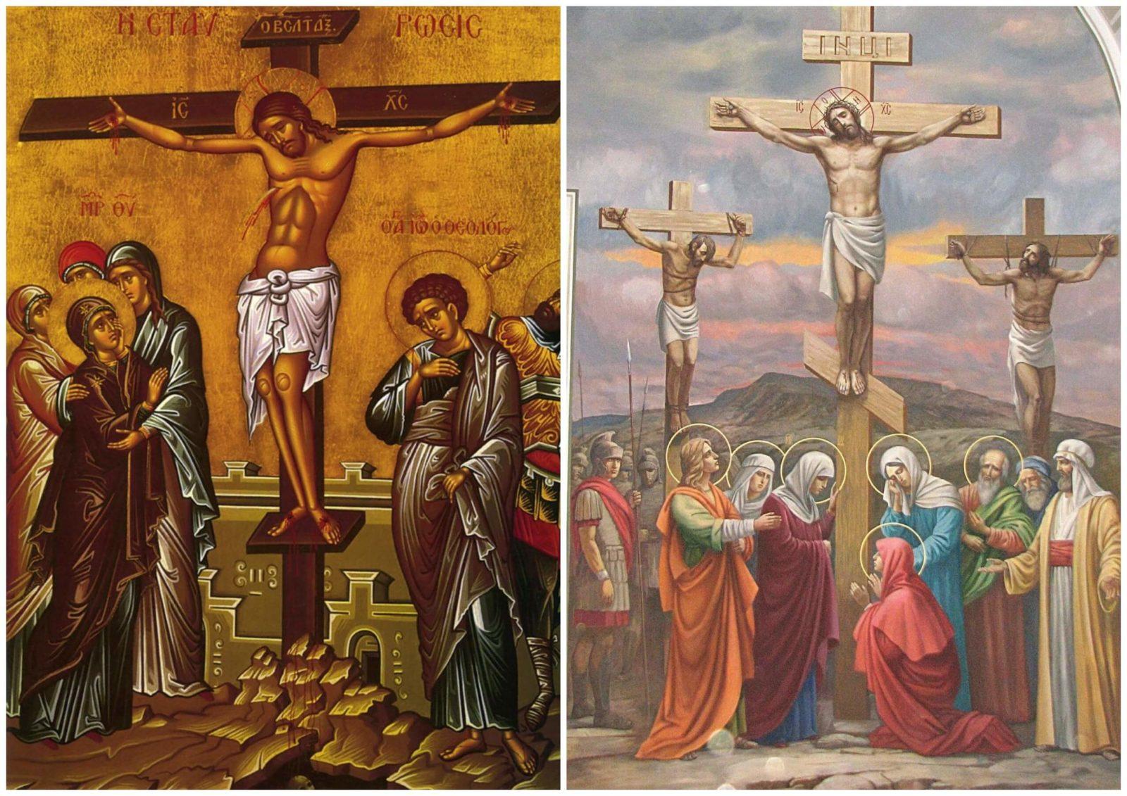 Иконы Распятие Иисуса Христа.