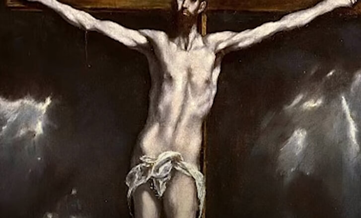 Иисус Христос на кресте.