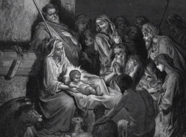 Рождение Иисуса Христа.