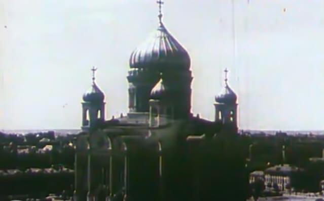Старое фото храма.
