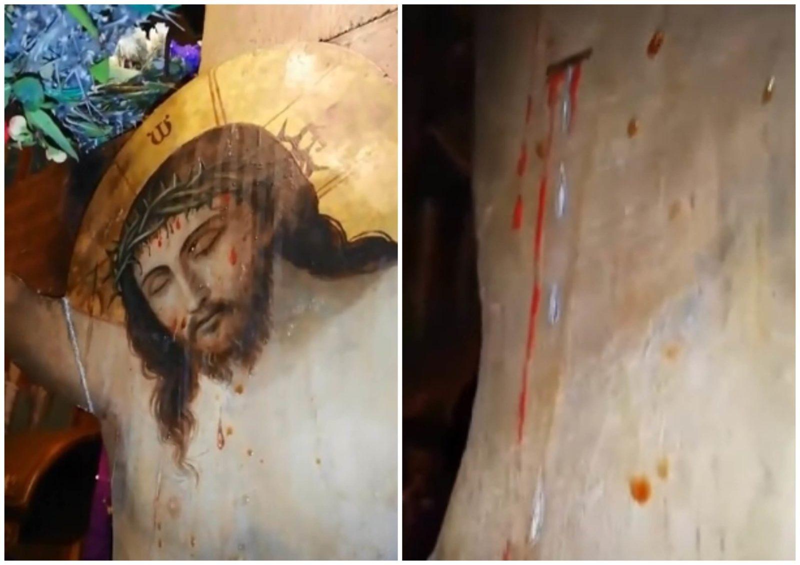 икона иисуса христа мироточит.