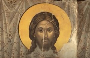 """На фото изображен """"Нерукотворный облик Спасителя""""."""